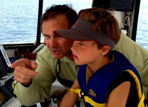 child-driving-charter-boat