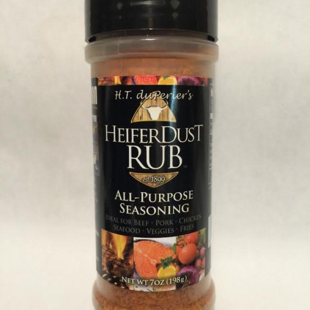 Heifer Dust Rub All Purpose Seasoning