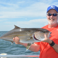 Catching amberjack on full day trips is a lot of fun