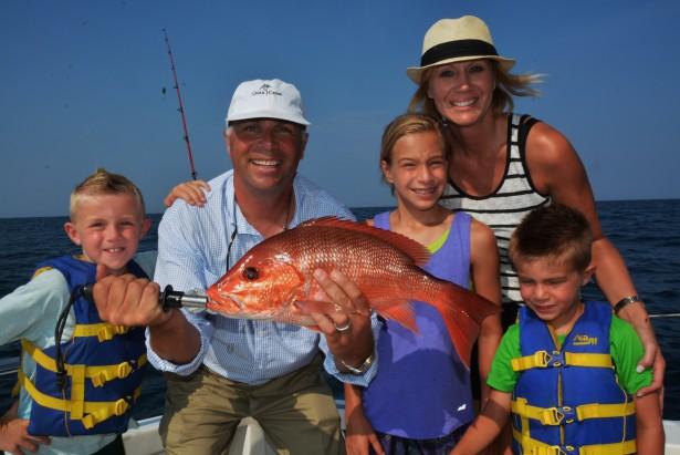 Orange beach fishing charter boats gulf shores fishing for Family fishing boats