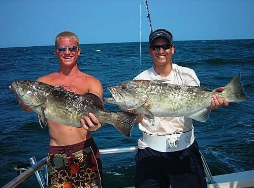 Orange Beach Grouper Fishing