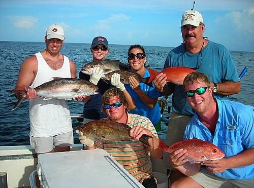 Barron Family Fishing Trip Brings Amberjack and Grouper