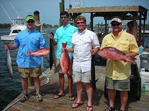 Orange Beach  Fishing Is Red Hot!