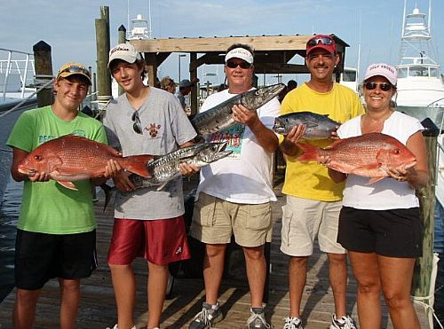 Barracuda Caught By Coleman Family off Orange Beach Alabama
