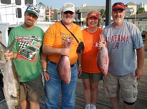 Mills Family Enjoys A Day Deep Sea Fishing
