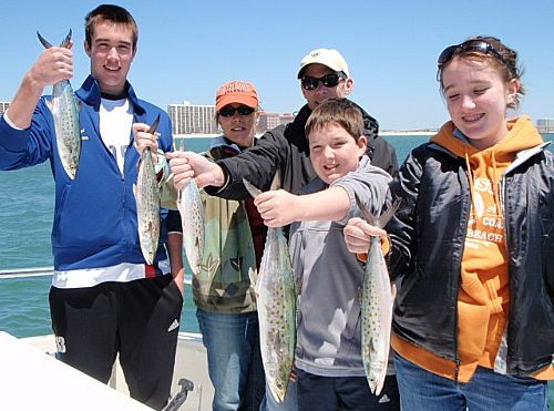 Spanish Mackerel Arrive In Orange Beach