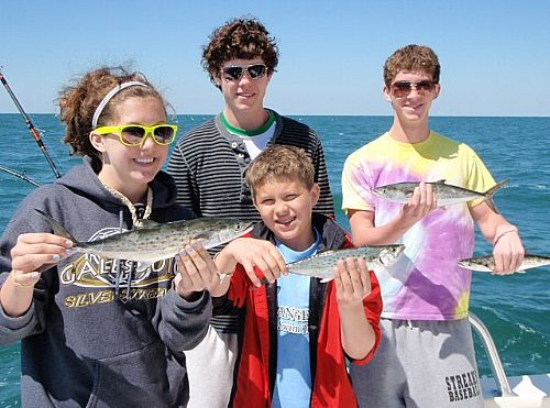 Orange Beach Trolling Charter with the Andersons