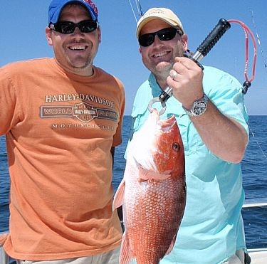 Dr. Phillip Cole Family Fishing Charter in Gulf Shores