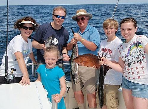 Nevins Family Fishing Charter In Orange Beach