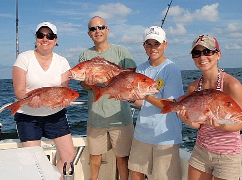 Bowers Family Fishing Charter in Orange Beach, Alabama