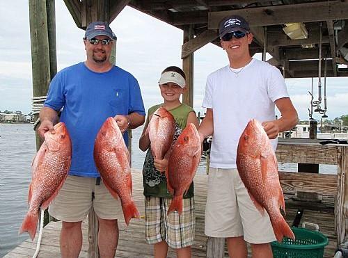Patterson Family Fishing Charter in Orange Beach, Alabama