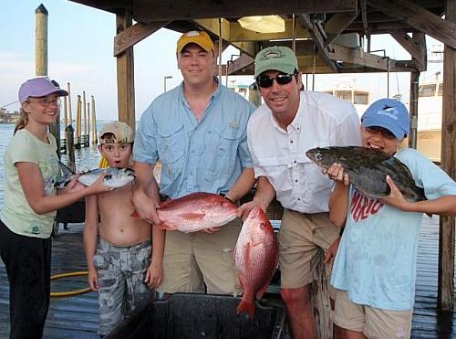 Dr. Jordan Stanley's Family Fishing Charter