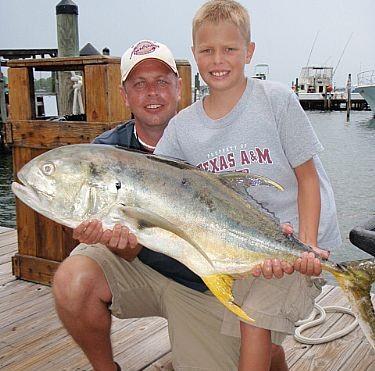 Sadler Family Fishing in Orange Beach, Alabama
