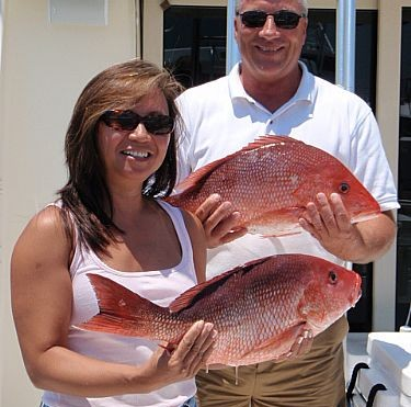 Dan Obrien Family Fishing Charter in Gulf Shores