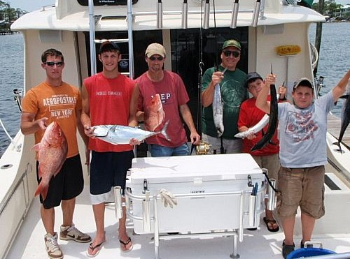 Wade Johnson Family Deep Sea Fishing Trip in Orange Beach