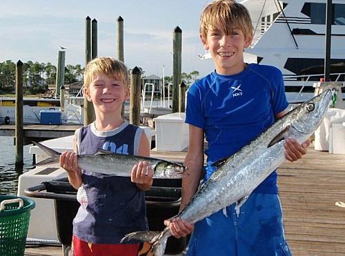 Buchanan Family Trolling Fishing Trip