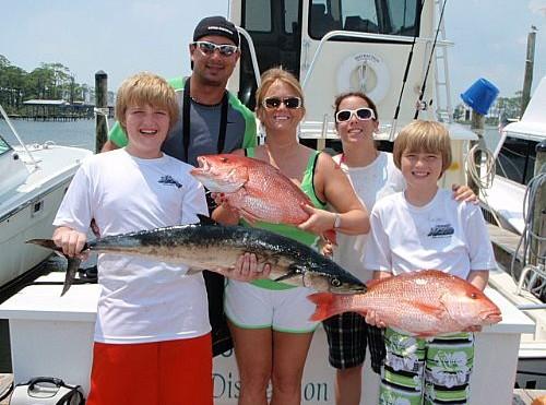 James Virgoe Family Deep Sea Fishing Charter