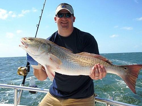 Fall and Winter Redfishing Along Alabama's Gulf Coast