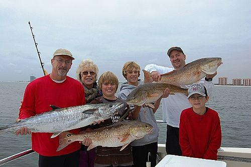 Thanksgiving Fishing Charter in Orange Beach