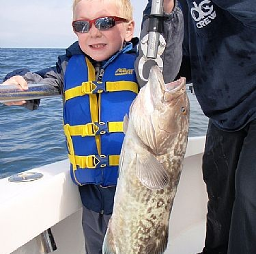 My first Grouper was caught on Distraction Charters