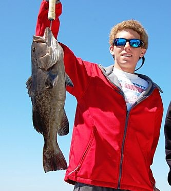 Grouper fishing in Gulf Shores, Alabama