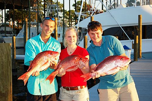 Fall Fishing Heats up in Orange Beach, Alabama