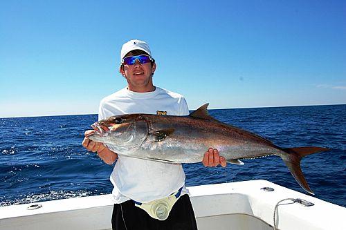 Offshore fishing for Amberjack in Orange Beach