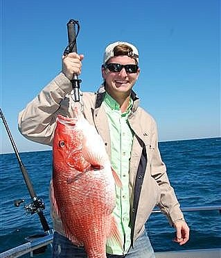 KA Fraternity Miami University of Ohio Fishing Charter in Orange Beach