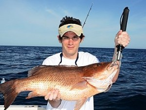 Spring Fishing Yields Big Black Snapper on Six Hour Charter in Orange Beach