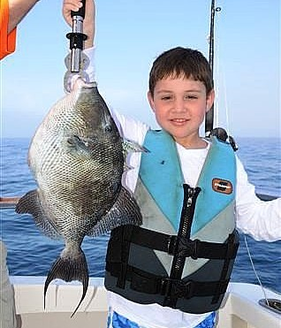 Fishing For Triggerfish during Spring Break