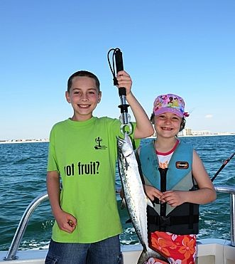 Spanish Mackerel Migration Begins in Orange Beach Fishing Charter Boats