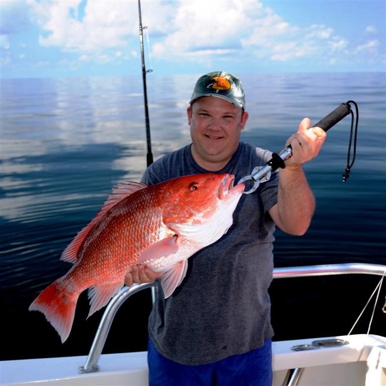 orange beach red snapper