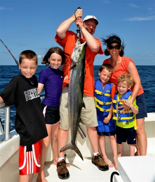 family-fishing-with-king-mackerel