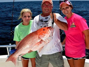 Red Snapper Season Opens in Orange Beach Alabama is pleasing customers with award winning service