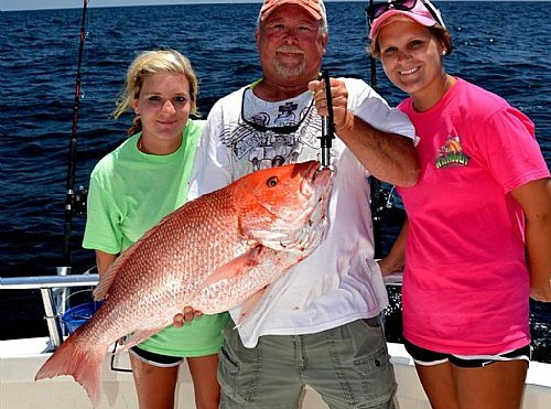Red Snapper Season Opens in Orange Beach Alabama is pleasing customers with award winning service