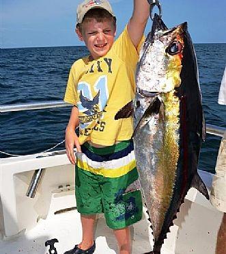 Blackfin Tuna Roll In Near Shore
