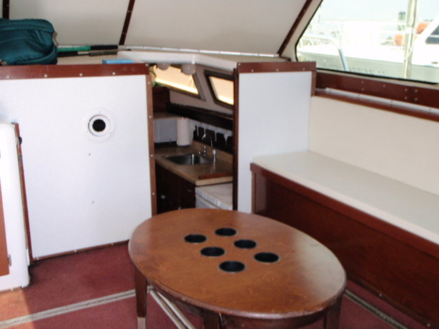 Inside Distraction Charter Boat