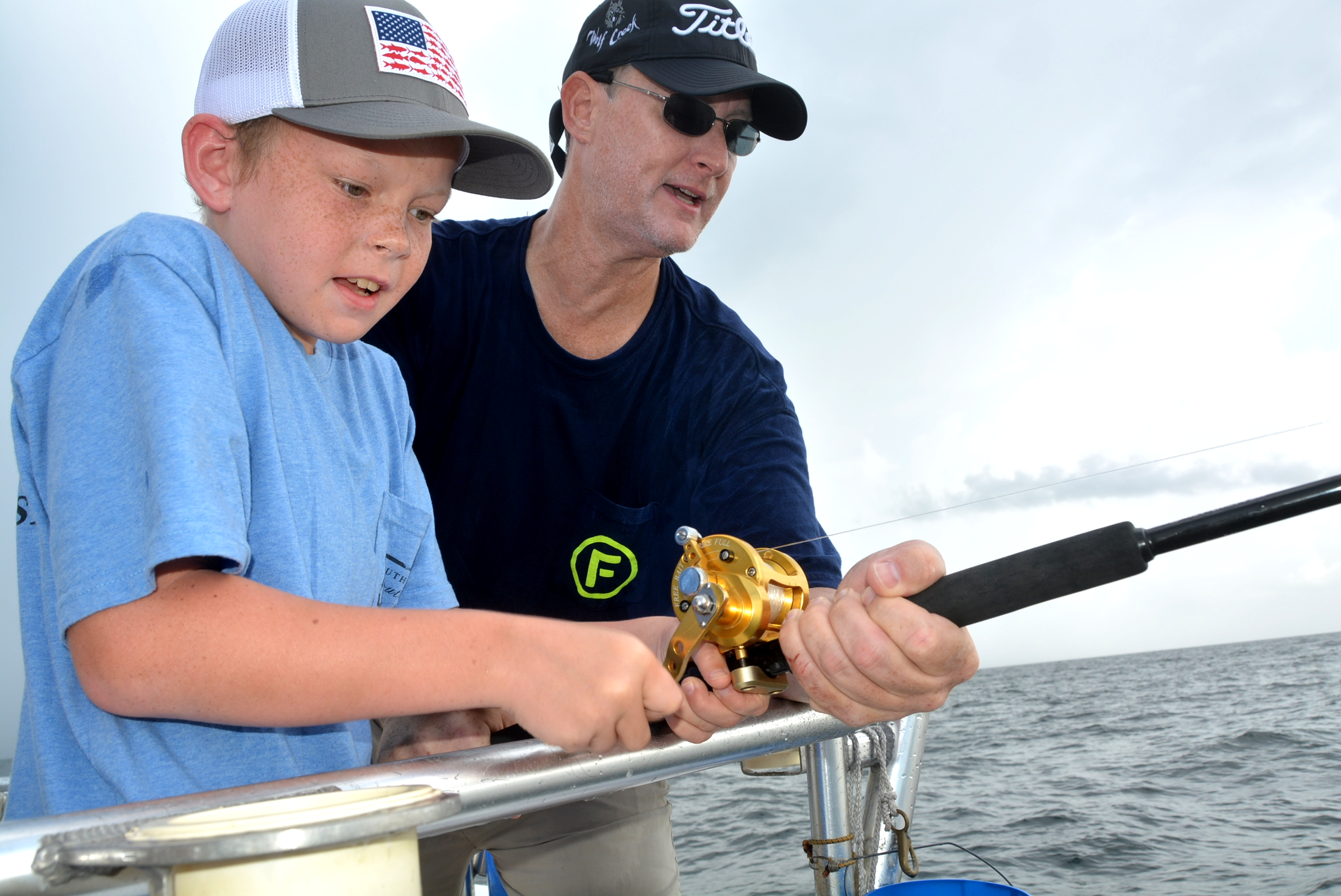 Best family fishing charters alabama distraction charters for Alabama fishing charters