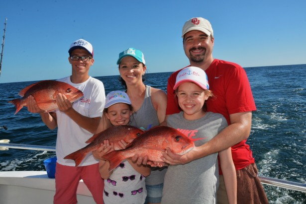 family fishing charters with kids
