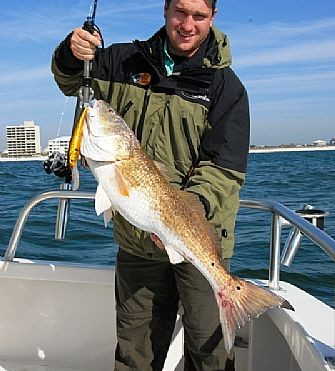 Bullreds and King Mackerel offer Fall Fishermen some action
