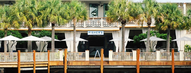 One of the most amazing restaurants in Orange Beach, Alabama is Fisher's at Orange Beach Marina. Be sure to tell them that Distraction Charters sent you!