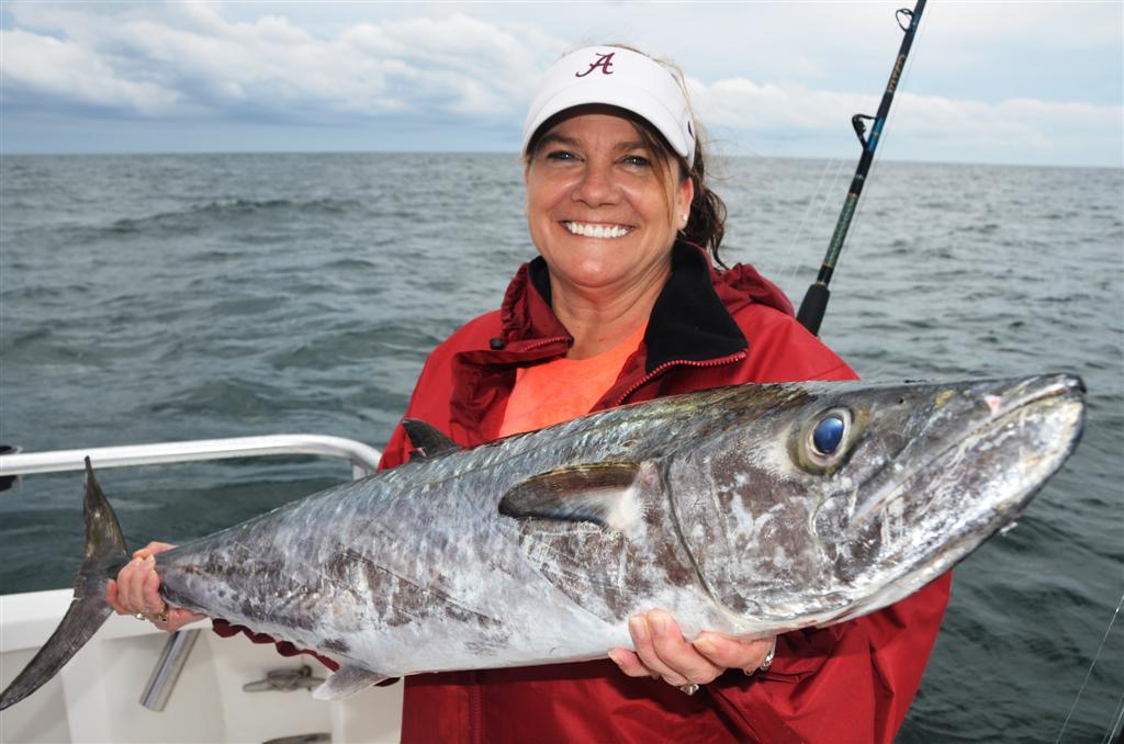 Orange beach king mackerel fishing report may 2013 for Orange beach fishing report