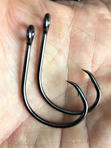 barbless hooks safety