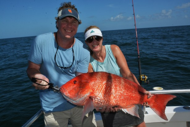 catch and release red snapper