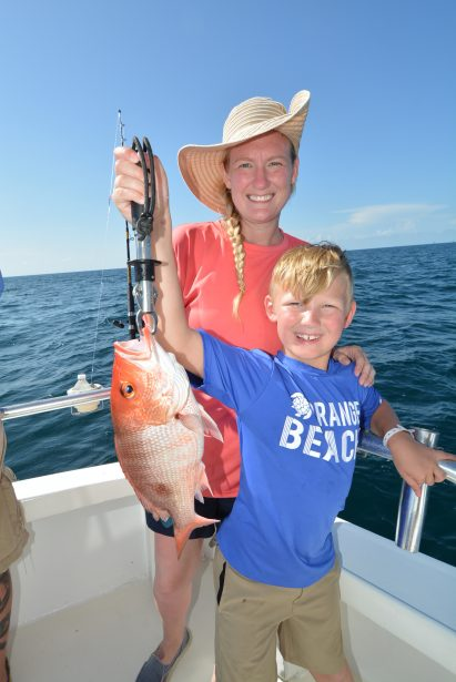 mom-boy-fishing-red-snapper